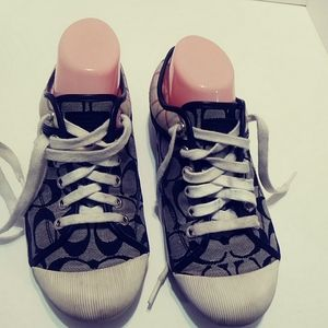 Coach zorra sneakers. C design and plaid